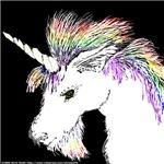 Unicorn of the Rainbow Mane