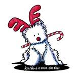 Reindeer Westie