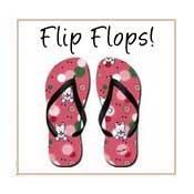 KiniArt Flip Flops
