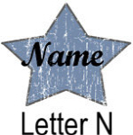 Blue Star names - Letter N