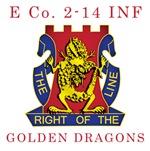 E Co 2-14 INF - Golden Dragons