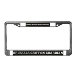 Brussels Griffon License Plate Frames