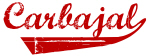 Carbajal (red vintage)