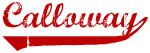 Calloway (red vintage)