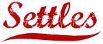 Settles (red vintage)