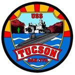 USS Tucson SSN-770 Navy Ship