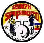 USS San Francisco SSN-711 Navy Ship