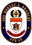 USS Robert G. Bradley FFG-49 Navy Ship