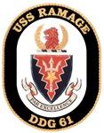 USS Ramage DDG-61 Navy Ship