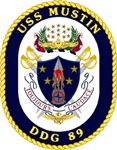 USS Mustin DDG-89 Navy Ship