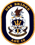 USS Bridge AOE 10 US Navy Ship