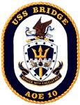 USS Bridge AOE 10 US Navy Ship
