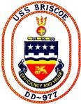 USS Briscoe DD 977 US Navy Ship