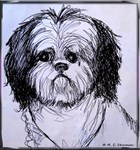 Dog, cute, puppy art!