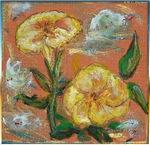 Petunias, floral art