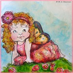 Fairy Baby! Cute art!