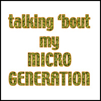 MICRO GENERATION T-SHIRTS & GIFTS