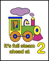 TRAINS ON CLOTHES FOR 2 YEAR OLDS