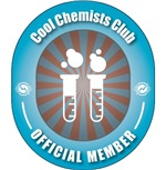 Proud member of the Cool Chemists Club.  Because if you're not a member then what are you?  The perfect gift for the Chemistry Geek.