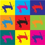 High Jumping Pop Art