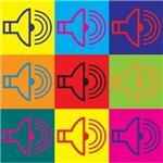Audiology Pop Art
