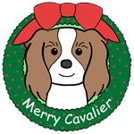 Cavalier King Charles Spaniel Christmas Ornaments