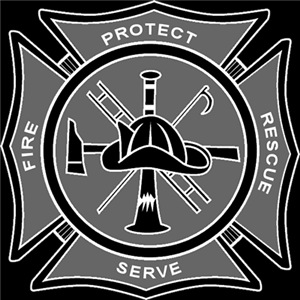 Maltese Cross - Protect & Serve