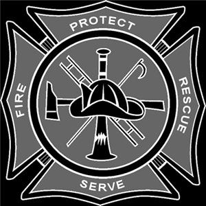 Maltese Cross - Protect & Serve