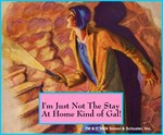Nancy Drew Staircase Slogan