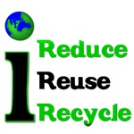 I Reduce, Reuse & Recycle T-Shirts & Gifts