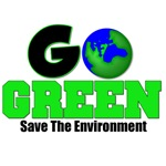 Go Green Save The Environment T-Shirts & Gifts