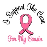 I Support The Cure For My Cousin T-Shirts