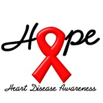 Hope Heart Disease Awareness T-Shirts & Gifts