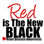 Red is The New Black Heart Disease T-Shirts