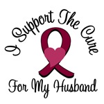 I Support The Cure Myeloma (Husband) T-Shirts