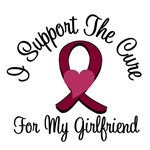 I Support The Cure Myeloma (Girlfriend) T-Shirts