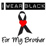 I Wear Black Ribbon For My Brother T-Shirts