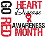 Heart Disease Awareness GoRed Month Shirts & Gifts