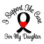 I Support The Cure Melanoma Daughter Shirts