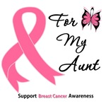 Breast Cancer For My Aunt Shirts & Gifts