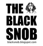 The Black Snob Girl Logo Tee