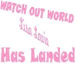 LISA LAVIE HAS LANDED