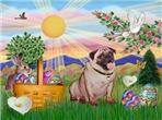 EASTER<br>& Fawn Pug #2