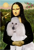 MONA LISA<br>& White Standard Poodle