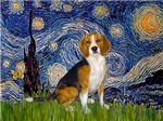 STARRY NIGHT<br>& Beagle