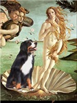 BIRTH OF VENUS<br>& Bernese Mountain Dog