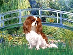 LILY POND BRIDGE<br>& Cavalier King Charles