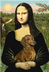 MONA LISA<br>& Red Dachshund