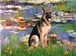 LILIES 2<br>& German Shepherd