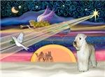 CHRISTMAS STAR<br>& Wheaten Terrier (#9)